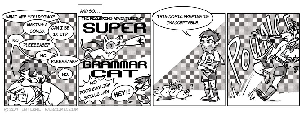 The Dawn Of Grammar Cat