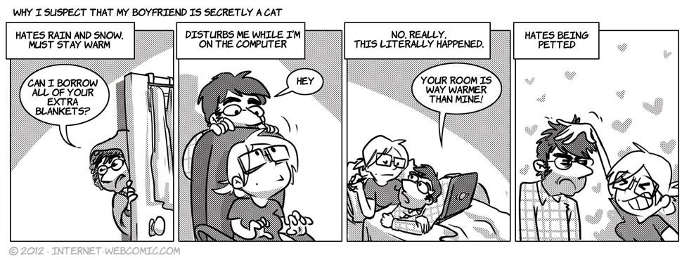 Why My Boyfriend Is Secretly A Cat