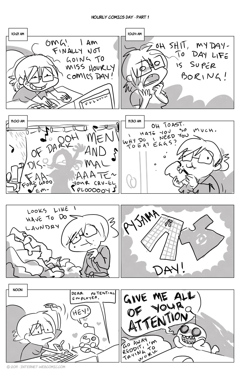 Hourly Comics – Part 1