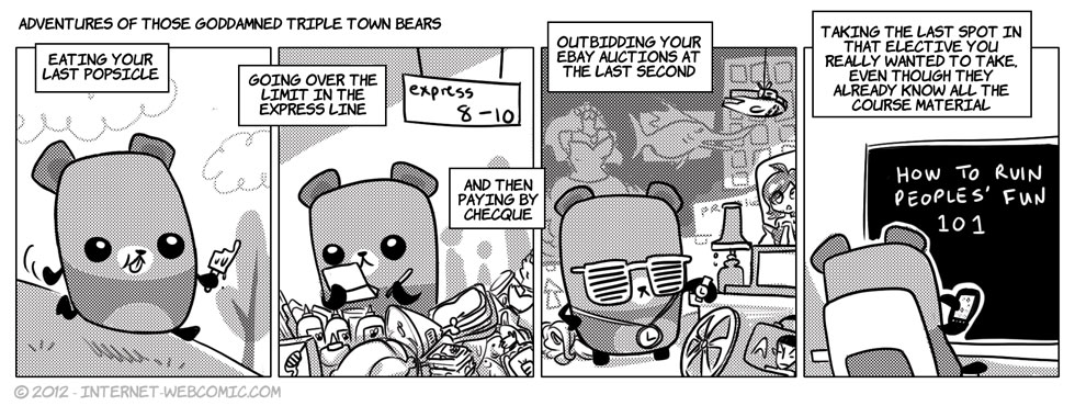Adventures Of Those Goddamned Triple Town Bears