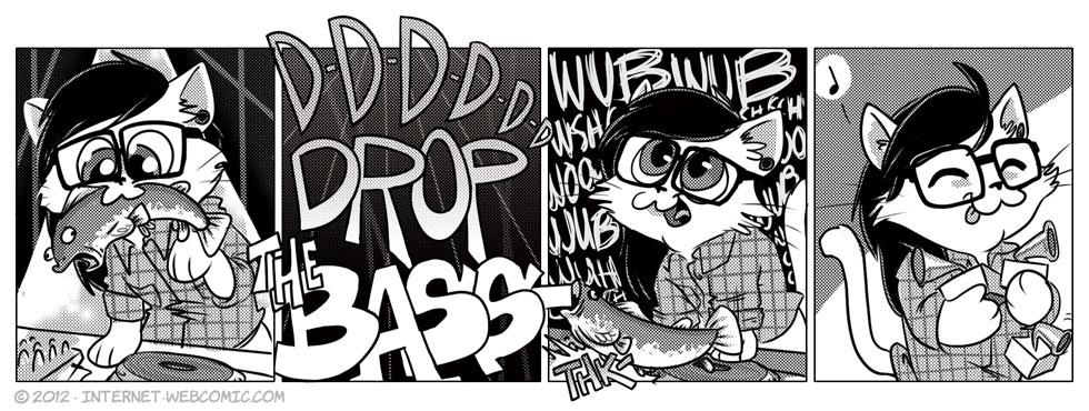 Internet Webcomic Drop The Bass